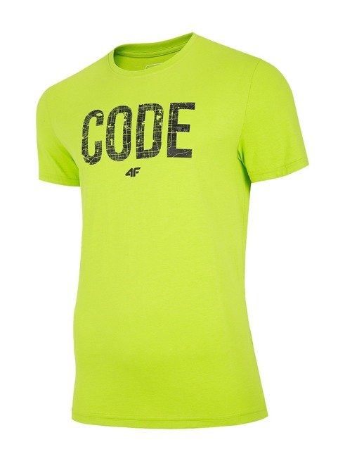 T-shirt męski 4F TSM013 SOCZYSTA ZIELEŃ