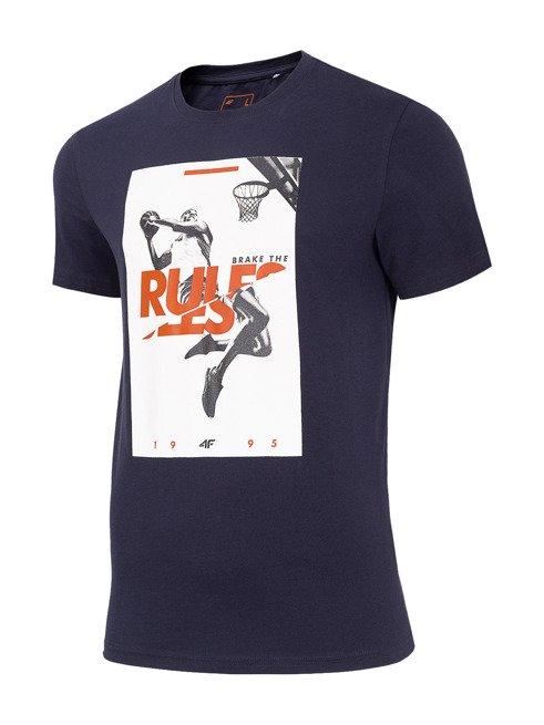 T-shirt męski 4F TSM029 GRANAT