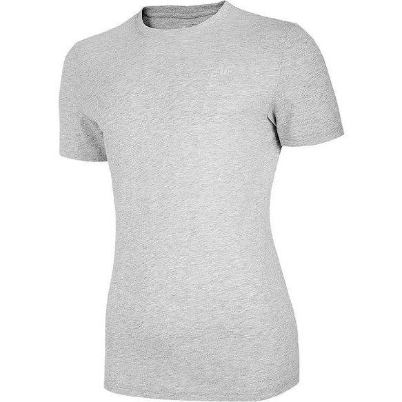 T-shirt męski 4F jasno szary