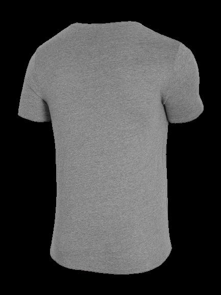 T-shirt męski OUTHORN TSM600A bawełniany szary