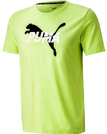 T-shirt męski PUMA 583474 34 koszulka zielona
