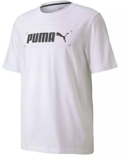 T-shirt męski PUMA 583487 02 koszulka biała