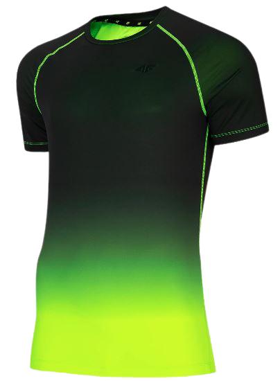 T-shirt sportowy męski 4F TSMF014 zieleń