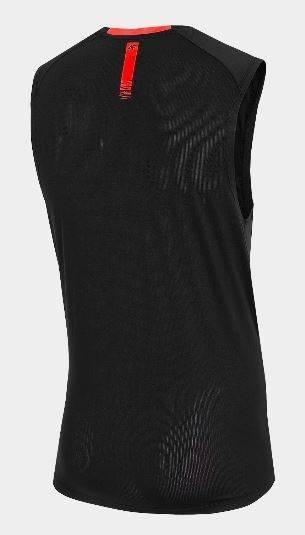 T-shirt sporty męski 4F TSMF017 bokserka czarny
