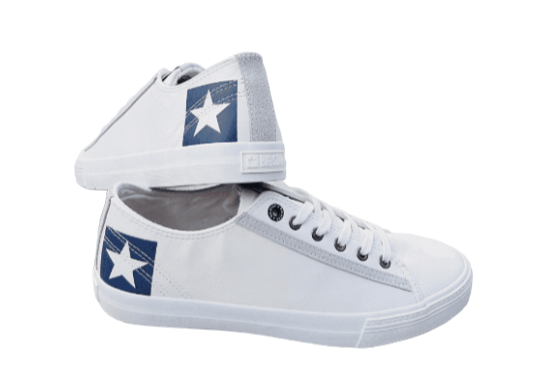Trampki męskie BIG STAR EE174074 białe