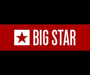 Trampki męskie BIG STAR  GRANAT