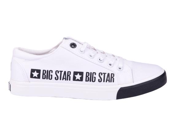 Trampki tenisówki BIG STAR FF174526 BIAŁE