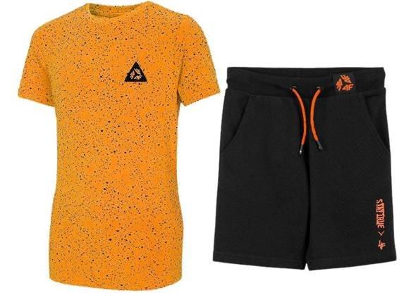 Zestaw sportowy chłopięcy 4F koszulka spodenki